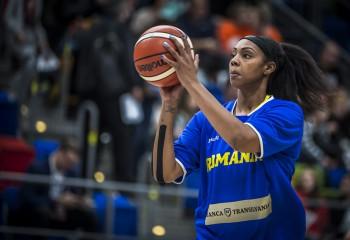 Ashley Walker a reușit al doilea double-double pentru România în calificările Women's Eurobasket 2021