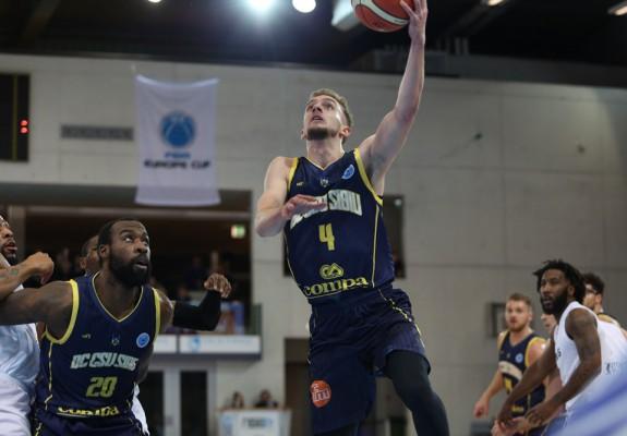 BC CSU Sibiu câștigă primul meci în FIBA Europe Cup