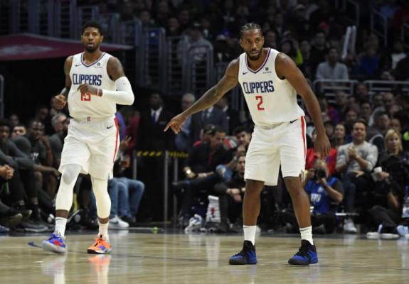 Kawhi Leonard și Paul George au jucat în sfârșit împreună la Los Angeles Clippers. Video
