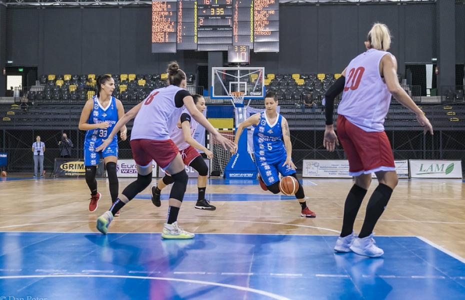 Nikolina Zubac și Biljana Pesovic, principalele marcatoare ale Olimpiei CSU Brașov în etapa a 7-a