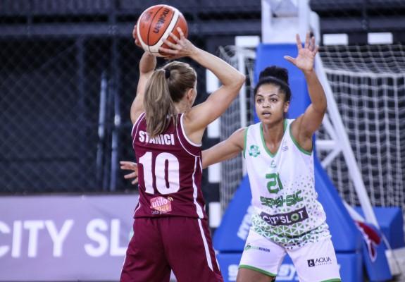 Florina Stănici (Diaconu) e cea mai bună marcatoare a turului în grupa Est, singura cu peste 100 de puncte