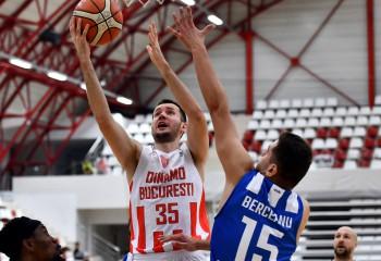 Andreja Milutinovic, cel mai bun marcator al turului din GVA