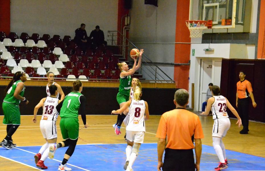 Anca Șipoș este prima jucătoare care ajunge la 5 double-doubles în această ediție a LNBF