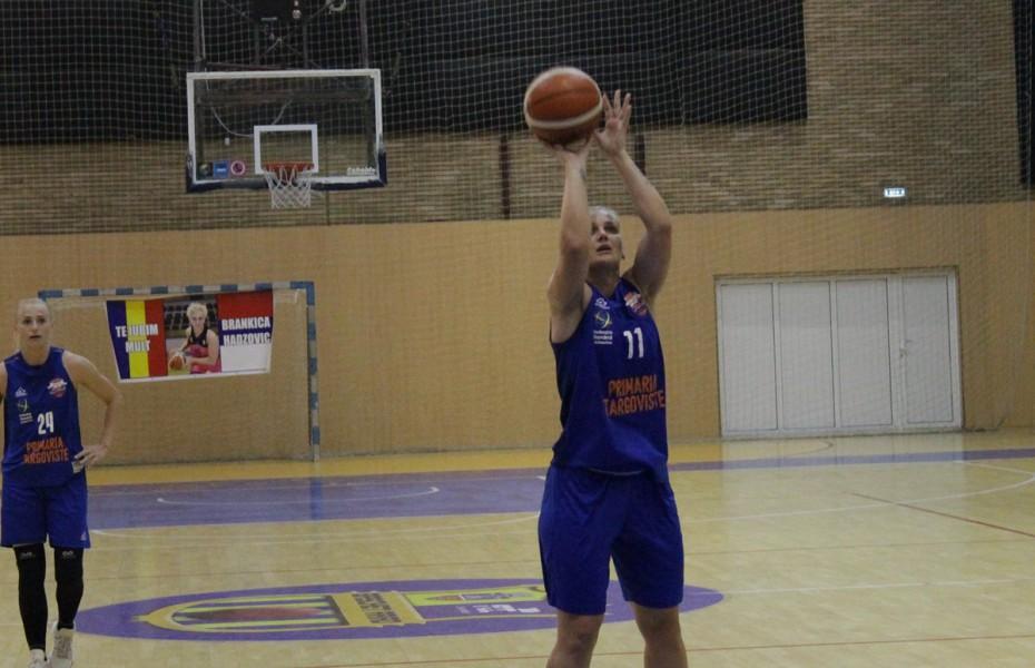 Gabriela Irimia, la al doilea double-double stagional pentru CSM Târgoviște în victoria de la Alexandria