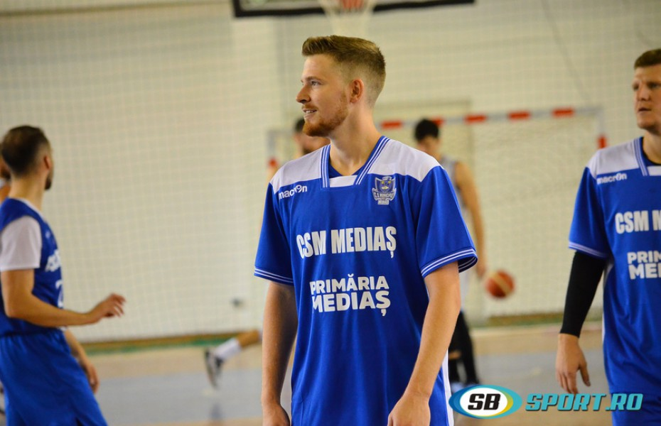 Jacob Gibson, cel mai bun marcator în fața lui Dinamo. Titus Nicoară în double-double
