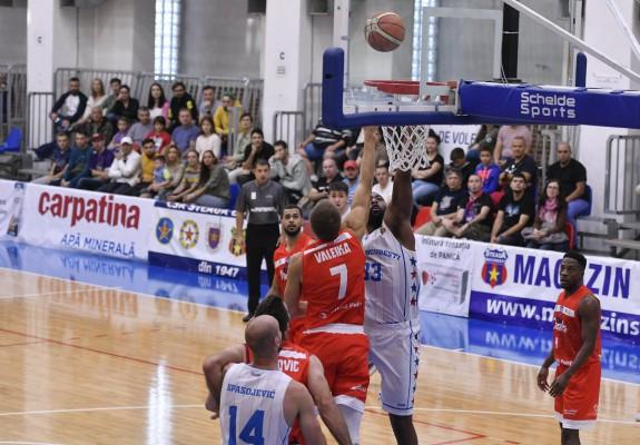 Keith Clanton și Radosav Spasojevic în double-double pentru CSA Steaua