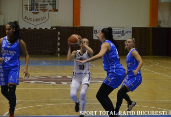 Olimpia CSU Brașov primește vizita Rapidului în primul meci al etapei a 9-a din grupa Est