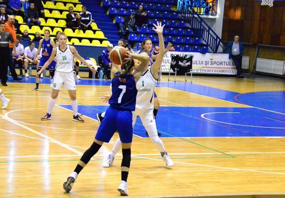 CSM Târgoviște își duce seria la 6 succese consecutive în grupa Est din LNBF