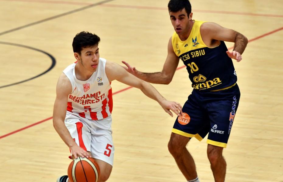 Marcu Badiu, meci foarte bun făcut împotriva lui U-BT Cluj-Napoca