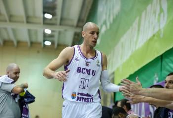 Goran Gajovic, primul double-double din acest sezon, în compania celor de la SCM Timișoara