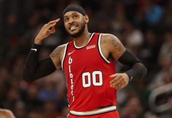 Carmelo Anthony a fost numit cel mai bun jucător din Conferința de Vest în ultima săptămână