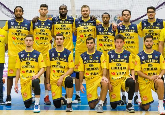 BC CSU Sibiu câștigă pe teren propriu cu SCM U Craiova