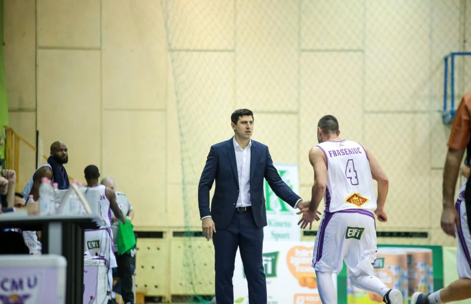 """Hristu Șapera: """"Clujul prestează un alt tip de joc, ceva ce eu nu am văzut până acum în România"""""""