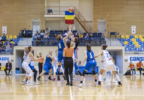CSM Târgoviște și Olimpia CSU Brașov dispută derby-ul etapei a 10-a în grupa Est din LNBF