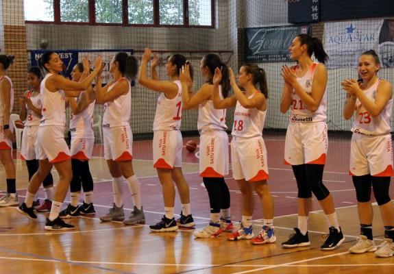 CSM Satu Mare câștigă clar cu CSU Rookies Oradea și revine pe primul loc în grupa Vest