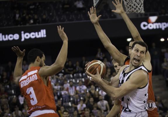 Debut cu victorie pentru U-BT Cluj Napoca în faza a doua a grupelor FIBA Europe Cup