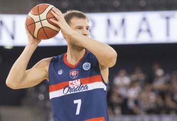 Arturas Valeika, meci foarte bun pe terenul lui U-BT Cluj-Napoca
