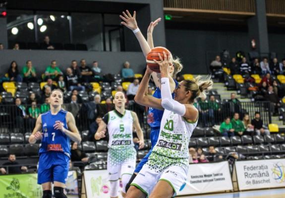 Rezultate înregistrate sâmbătă în Liga Națională de baschet feminin