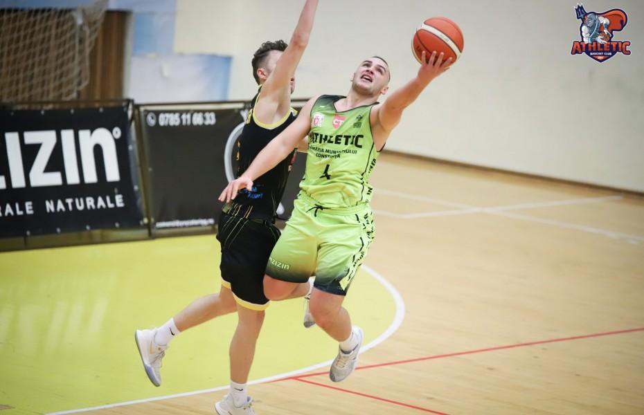 Athletic Constanța trece de CSM Focșani