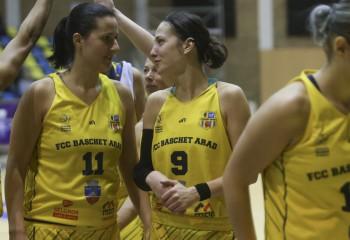 FCC Baschet Arad s-a impus în deplasare cu Universitatea Cluj