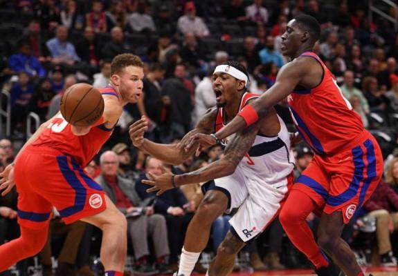 Prestație colectivă excepțională pentru Detroit Pistons în victoria cu Washington Wizards