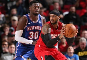 Season high pentru Carmelo Anthony la revenirea în Madison Square Garden