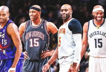 Vince Carter devine primul jucător din istoria NBA care  joacă în patru decade diferite