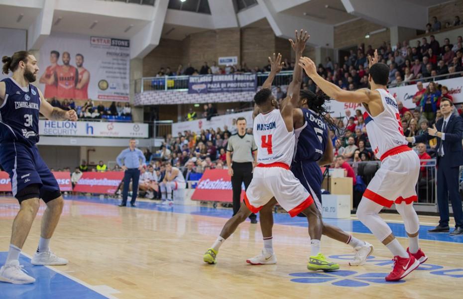 CSM Oradea pierde partida cu Tsmoki Minsk