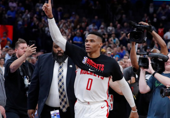 Westbrook pierde la revenirea pe terenul lui OKC