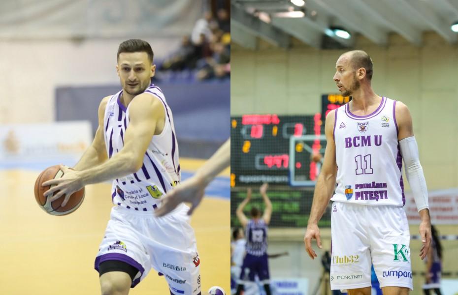 Goran Gajovic și Mirel Dragoste s-au întrecut în aruncări dificile în dubla Timișoara - Pitești din Cupa României