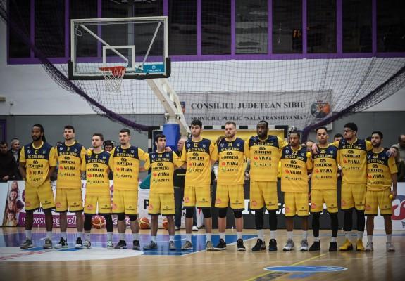 BC CSU Sibiu, victorie cu emoții pe teren propriu împotriva celor de la BCM U Pitești