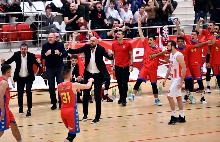 Steaua câștigă pe terenul lui Dinamo în epilogul etapei a 13-a din LNBM
