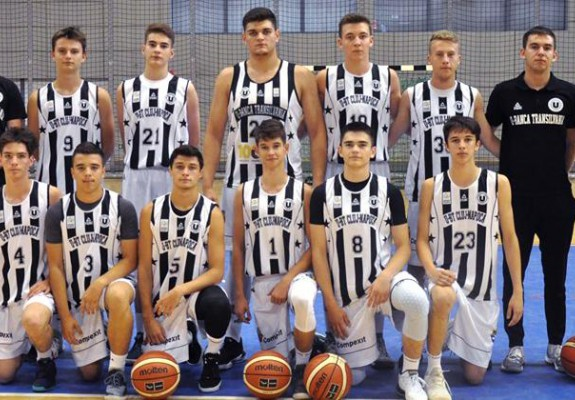 Echipa de U20 a lui U-BT Cluj-Napoca s-a calificat în playoff-ul EYBL
