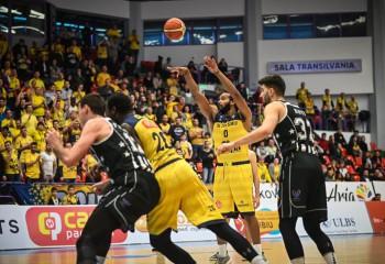 BC CSU Sibiu a obținut primul succes al sezonului în toate competițiile în fața primelor două clasate din LNBM