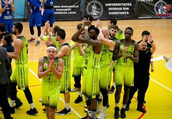 Athletic Constanța joacă cu calificarea pe masă la Sighetu Marmației