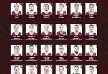Artis Ate, selectat în lotul lărgit al naționalei Letoniei pentru calificările la Eurobasket 2021