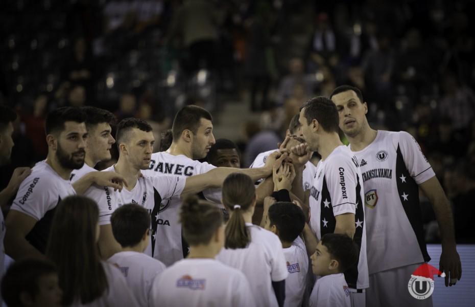 U-BT Cluj-Napoca, victorie la scor în fața lui CSA Steaua București