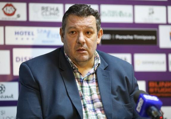 """Dragan Petricevic, după înfrângerea cu Oradea: """"La un moment dat a fost chiar dramatic"""""""