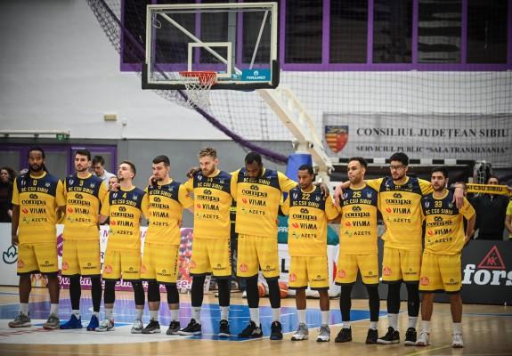 CSU Sibiu obține o victorie la 20 de puncte diferență în fața Stelei