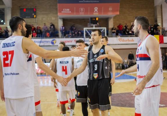 Calcule. Cum se pot califica U BT Cluj-Napoca și CSM CSU Oradea în sferturile FIBA Europe Cup