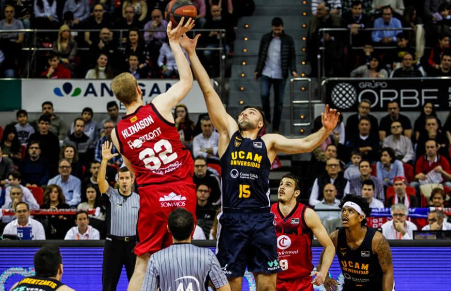Emanuel Cățe, primul double-double în Liga ACB