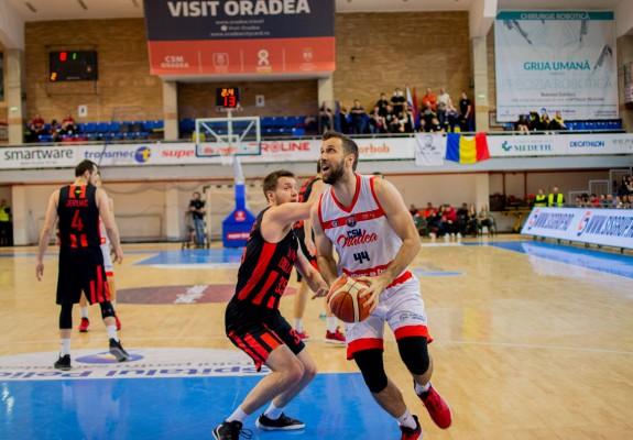 F4. CSM CSU Oradea întâlnește Dinamo Știința în prima semifinală a Cupei României