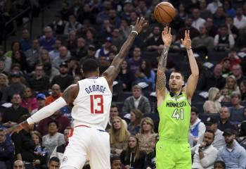 Timberwolves întrerupe seria de înfrângeri chiar împotriva lui LA Clippers