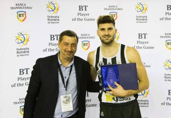 F4. Nandor Kuti, prestație excepțională în semifinala cu SCM Timișoara