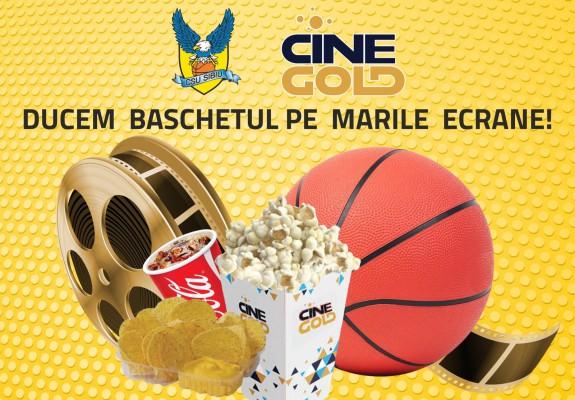 BC CSU Sibiu dă startul unui proiect inovativ, în colaborare cu CineGold