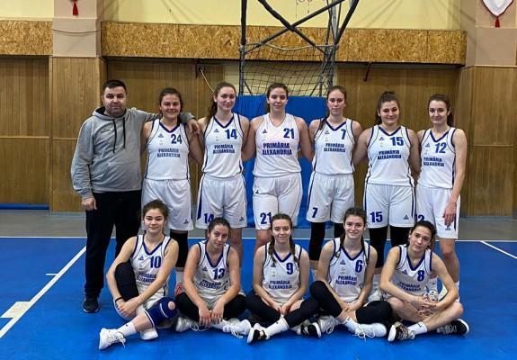 CSS CSM Alexandria câştigă Campionatul Feminin U20