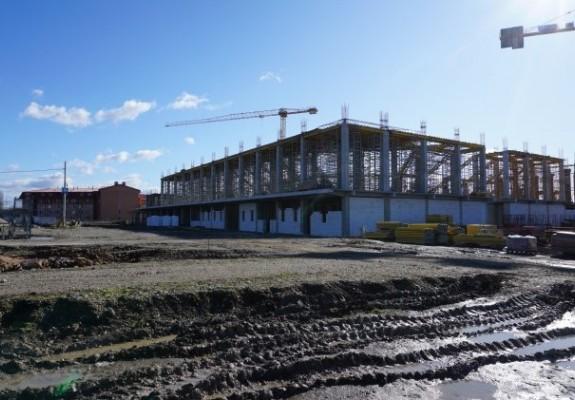 Lucrările la construcția noii săli polivalente din Oradea au ajuns la 25%