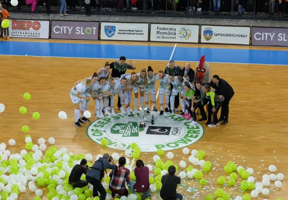 Sepsi SIC Sfântu Gheorghe a câștigat Cupa României în dauna celor de la FCC Baschet Arad