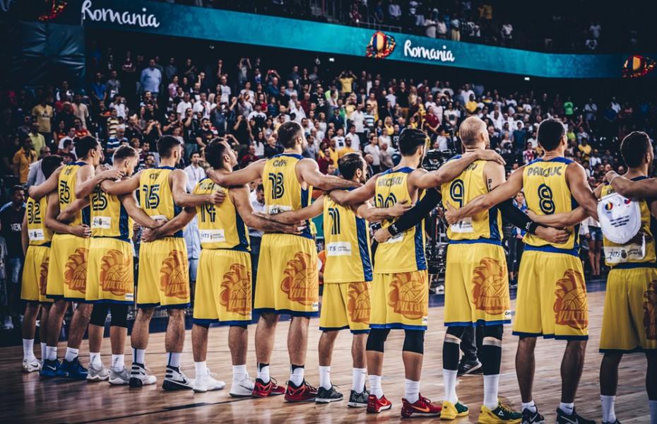 """Doar trei """"supraviețuitori"""" în naționala României din echipa care a întâlnit Spania la EuroBasket 2017"""