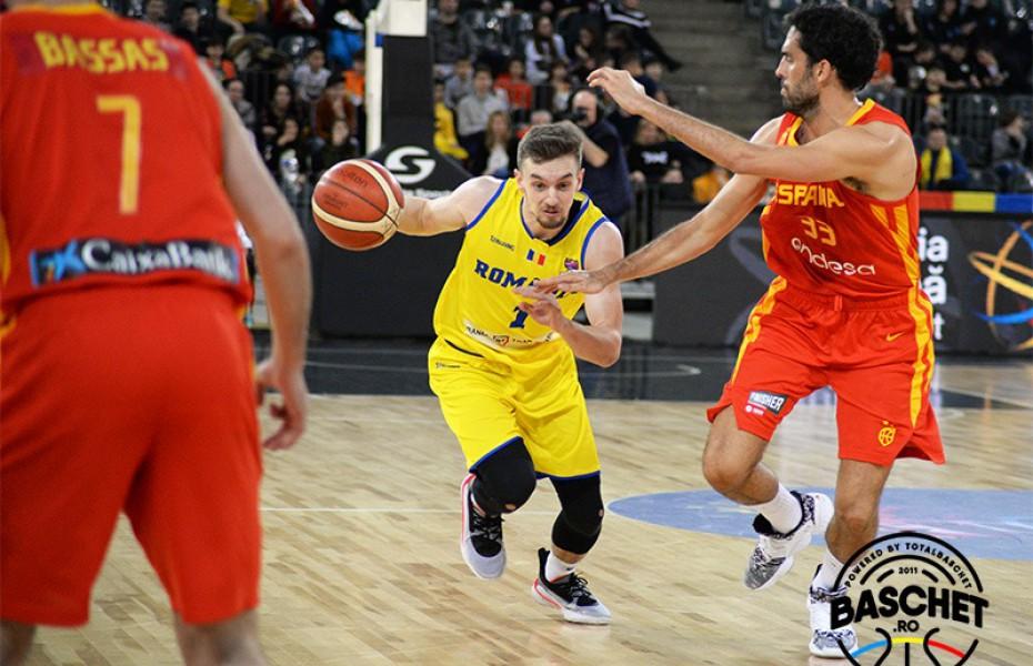 LIVE Blog: România pierde după o prestație promițătoare cu Spania; urmează duelul cu Israel